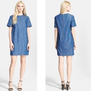 Kate Spade Quilted Chambray Shift Dress 2